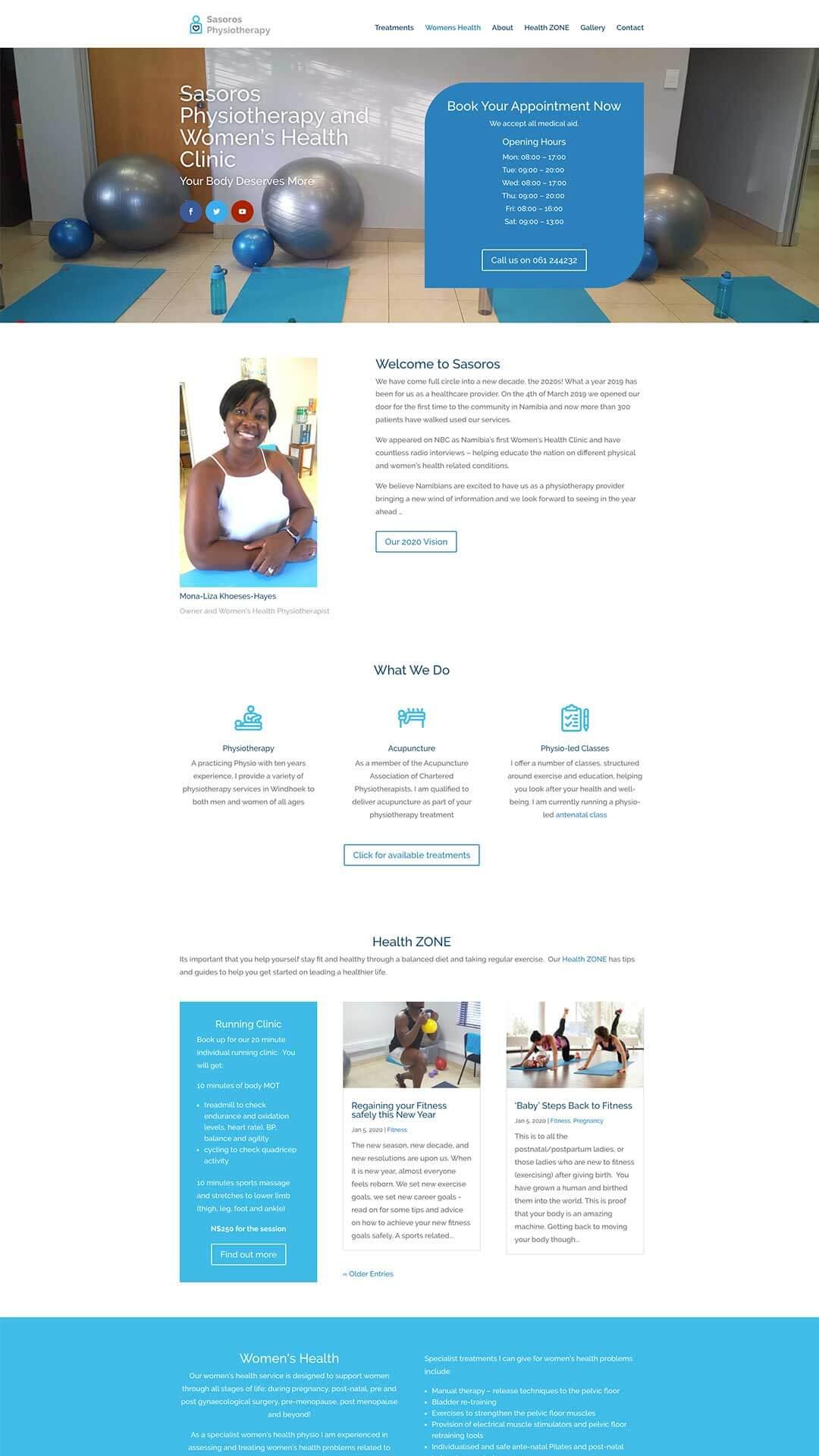 sosoro_website